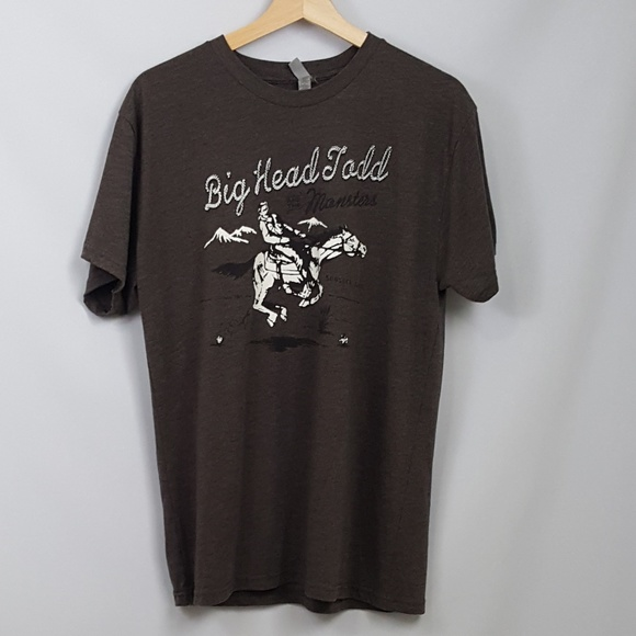 Next Level Apparel Other - Men's Big Head Todd & The Monsters Large